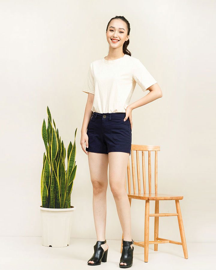 Quần short kaki Mallaca SO03