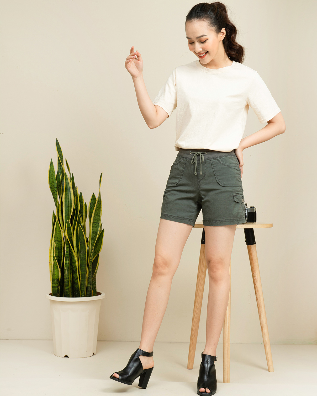Quần short kaki Mallaca SO09
